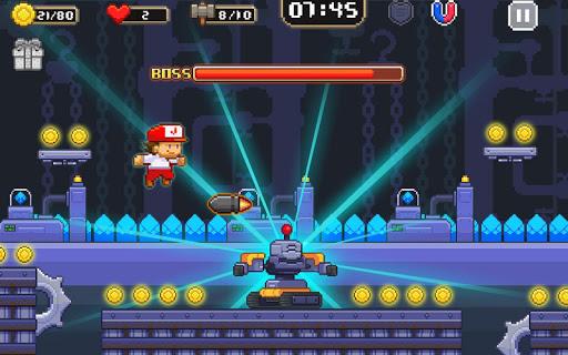 Super Jim Jump - pixel 3d 3.6.5026 screenshots 13