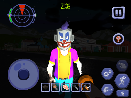 Scary Clown Man Neighbor. Seek & Escape Apkfinish screenshots 21