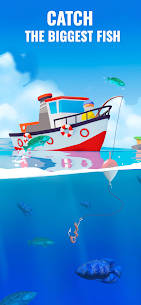 Fish Idle Hooked Tycoon Mod Apk , Fish Idle Mod Apk Unlimited Money And Gems 5