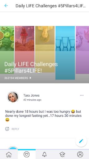 LIFE Fasting Tracker | Social Intermittent Fasting 5.1.9 Screenshots 6
