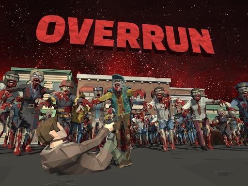 Overrun: Zombie Horde Apocalypse Survival TD Game apkpoly screenshots 8