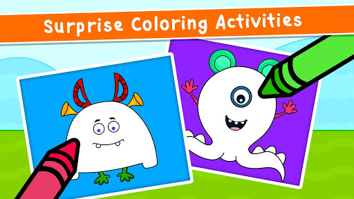 Coloring Games for Kids - Drawing & Color Book Apkfinish screenshots 5