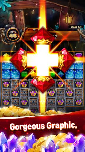 Jewels Cave Crush: Match 3 Puzzle  screenshots 4