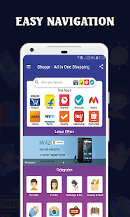 All in One Shopping App - Online Shopping Apps Screenshot