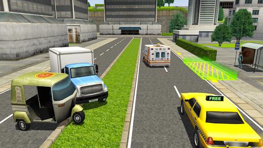 Tuk Tuk Rickshaw City Driving Simulator 2020  screenshots 8