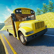 Offroad School Bus Driving Simulator