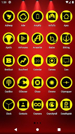 oreo yellow icon pack p2 ✨free✨ screenshot 2