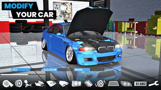Car Parking 3D: Modified Car City Park and Drift 5.0 screenshots 1