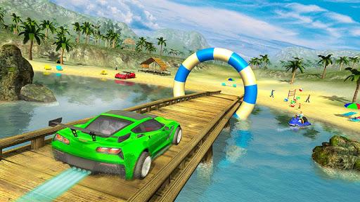 Water Surfer car Floating Beach Drive 1.17 screenshots 1