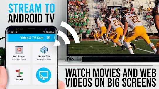 Video  TV Cast   Google Cast  Android TV Streamer Apk 3