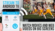 Video & TV Cast + Google Cast: Android TV Streamerのおすすめ画像1