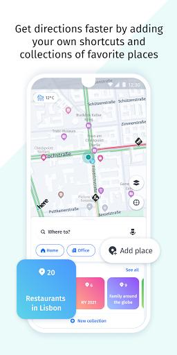 HERE WeGo Maps & Navigation android2mod screenshots 7