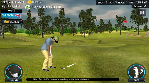 Real Star Golf Master 3D apkpoly screenshots 3