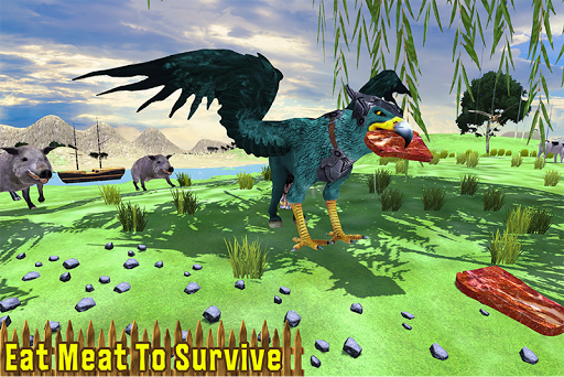Wild Griffin Family Flying Eagle Simulator  screenshots 4