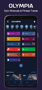 Olympia Pro Apk- Gym Workout & Fitness Trainer [Paid] 2
