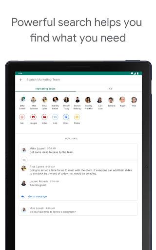 Google Chat apktram screenshots 10
