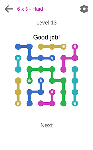 Connect dots puzzle game