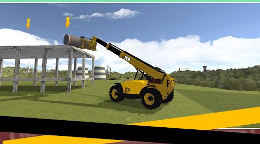 Dozer Crane Simulation Game 2 screenshots 7