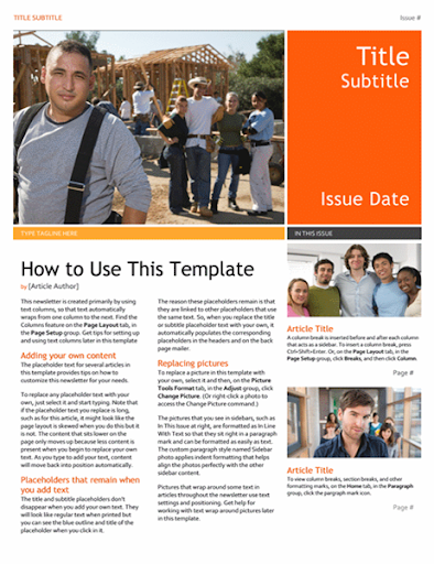 Free Email Newsletter Templates  screenshots 6