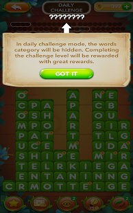 Word Tiles : CHALLENGING & SOLVABLE