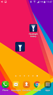 Flashlight Galaxy Screenshot