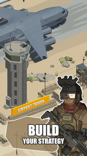 Idle Warzone 3d: Military Game - Army Tycoon screenshots 3