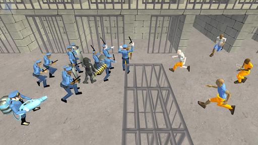 Battle Simulator: Prison & Police apktram screenshots 9