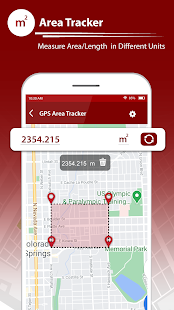 GPS Fields Area Tracker u2013 Area Measure App 1.2 Screenshots 2