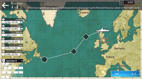 Warship Fleet Command : WW2 Naval War Game 2.01803 Screenshots 8