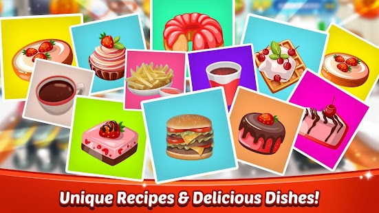 Cooking World Girls Games & Food Restaurant Fever Screenshot