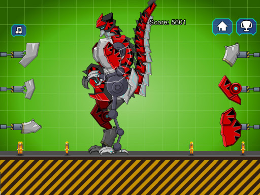Red T-Rex Robot Dinosaur 2.5 screenshots 8