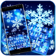 Crystal Winter Snowflake Keyboard