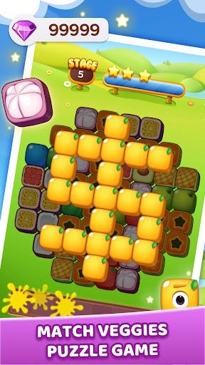 Veggie Tile - 3 Tiles Mahjong Match 1.1.2 screenshots 3