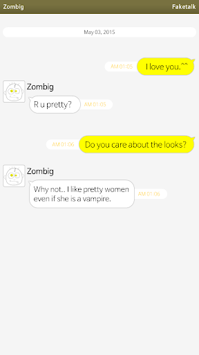 Faketalk - Chatbot apktram screenshots 1