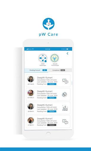 pwcare: simplifying healthcare screenshot 3