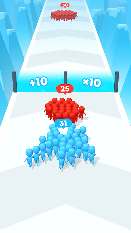 Count Masters: Crowd Clash & Stickman running game  poster 4