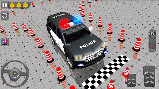 Advance Police Parking - Smart Prado Games modavailable screenshots 13