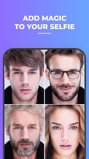 FaceApp - Face Editor, Makeover & Beauty App Screenshot