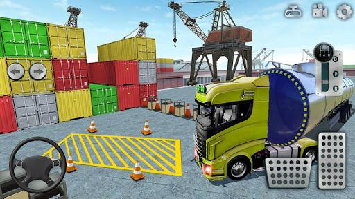 Cargo Truck Parking Simulator 2021 3D Truck Games  screenshots 2