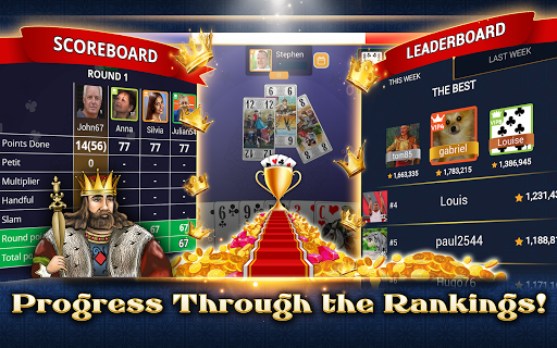 VIP Tarot - Free French Tarot Online Card Game 3.7.4.26 screenshots 22