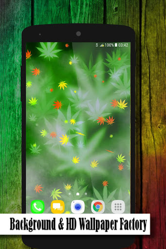 marijuana live wallpaper screenshot 1