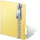 クイックファイル解凍またはジップ