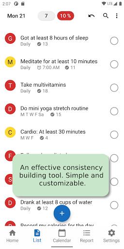 Daily Checklist 20.0.0 screenshots 1
