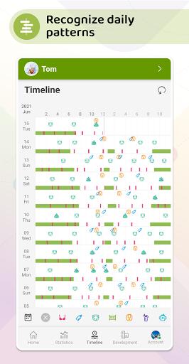 Baby Daybook - Breastfeeding & Sleeping Tracker android2mod screenshots 4