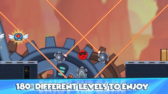 Red Ball 2021- Roller Ball: Bounce Ball Heroes 1.1.3 screenshots 1
