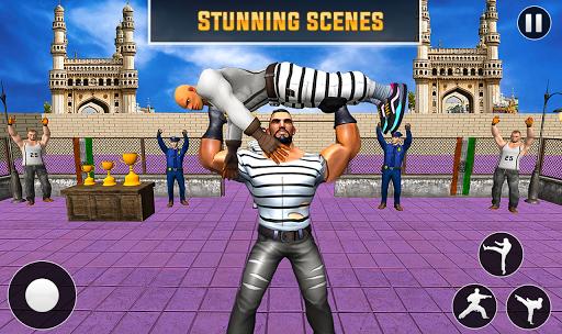 Grand Ring Battle: Fight Prisoner Karate Fighting apktram screenshots 4