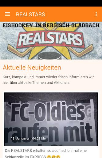 realstars - eishockey screenshot 1