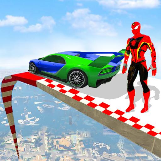 Super Car Stunts - Car Games Crazy Ramp Car Stunt