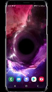 Black Hole Simulation 3D Live Wallpaper Apk Download 2021 3