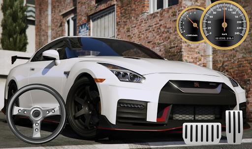 Drive & Parking Nissan GT-R City apklade screenshots 1